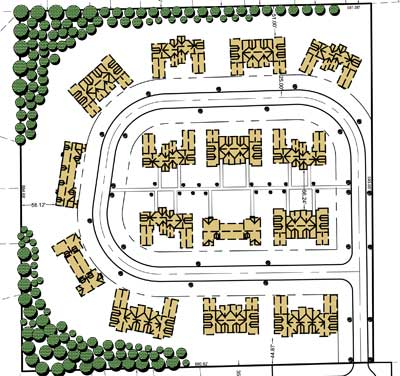 Briarwood condominiums Plat Map