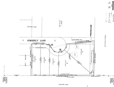 Harbach Estates Plat Map