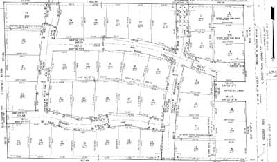 Meadows Estates Plat map
