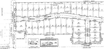 Old Farm Meadows Plat Map