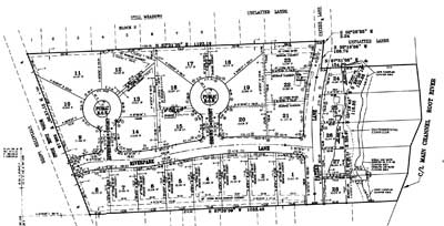 Riversview Park Plat Map
